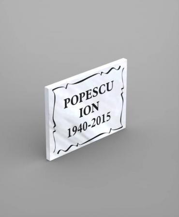 Comemorative Tile PCM3 - 30x40x2 CM