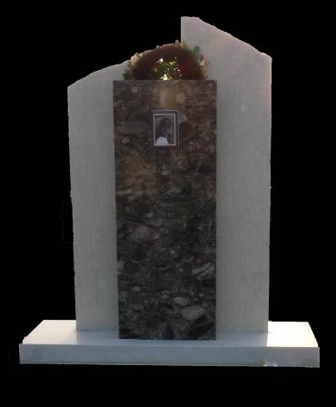 Marble cross MM0001