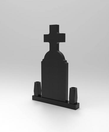 Granite tombstone Ortodox 4 model G39