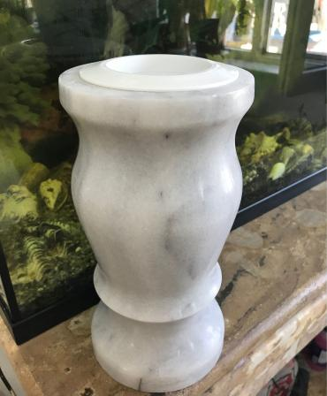 Marble vase model VM1 - with defects