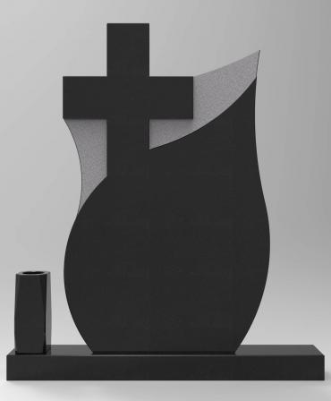 Granite Tombstone Ou2 model G43