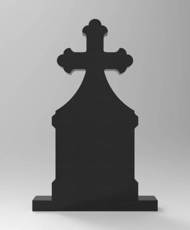 Granite Tombstone Bizantin model G15