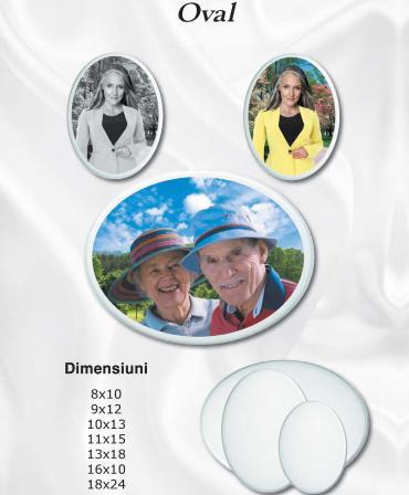 Photoceramic Oval