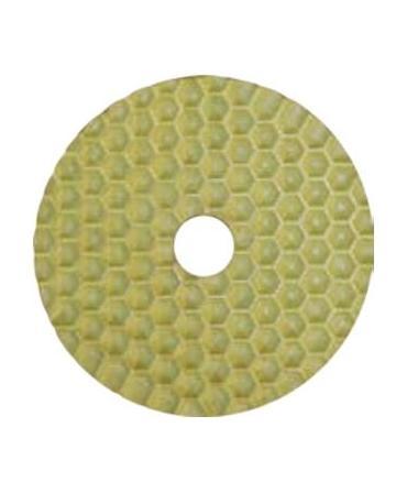 Dry polishing pad