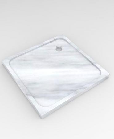 Cada de dus din marmura , model CD1 - 90x90x6 CM