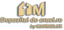 Monumente funerare, cruci si placi comemorative din marmura si granit